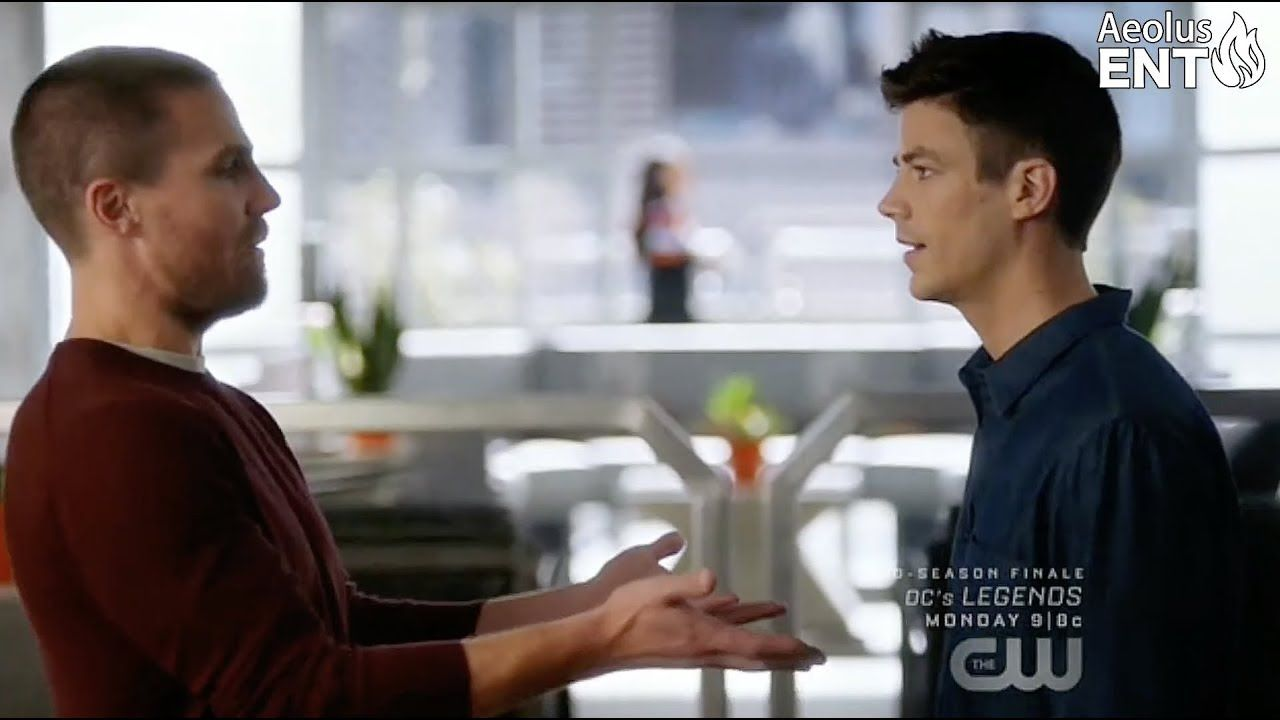 Barry Realizes Oliver Slept With Iris - The Flash 5x9