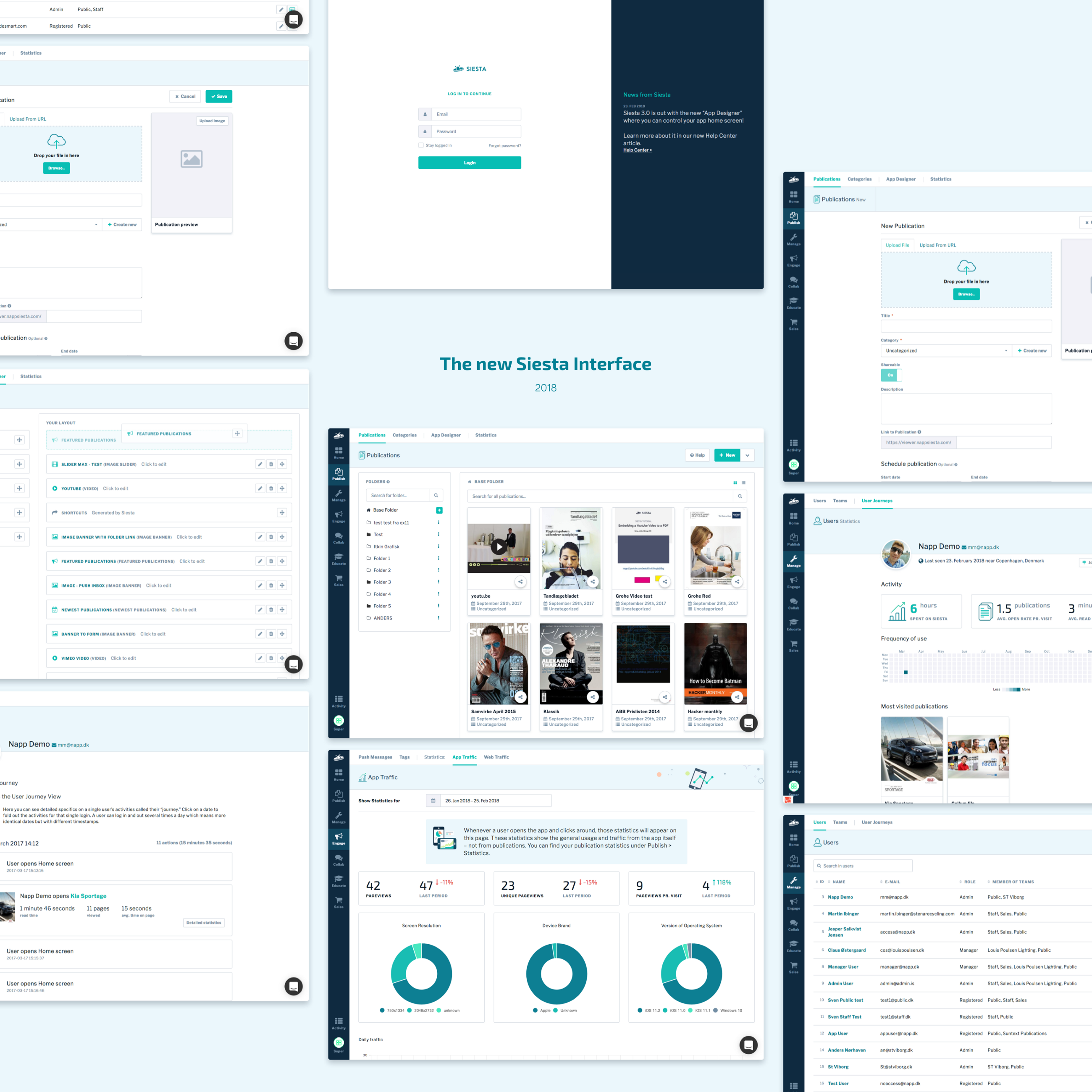 Ral Partners Through Their Emails And Sends Partn Web Design User Experience Design Dashboard Design