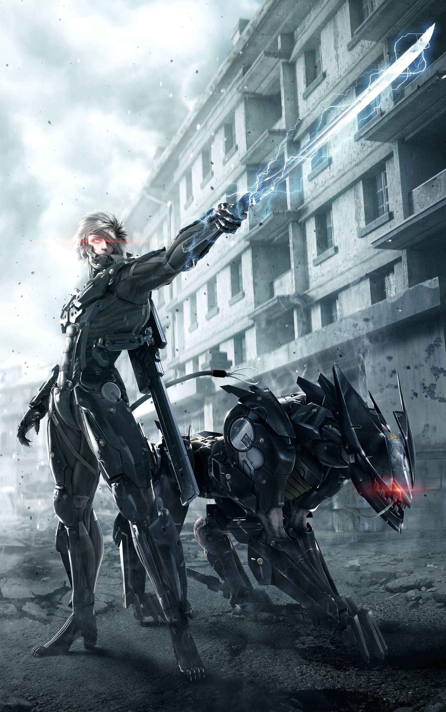 Metal Gear Rising Revengeance Poster Metal Gear Rising Metal