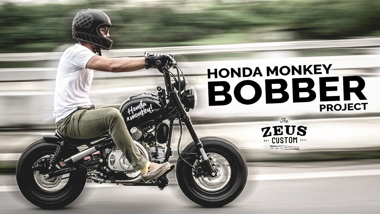 The Jaak Project By Zeus Custom Honda Monkey 125 In 2020 Honda Bobber Honda Grom Custom Honda Grom
