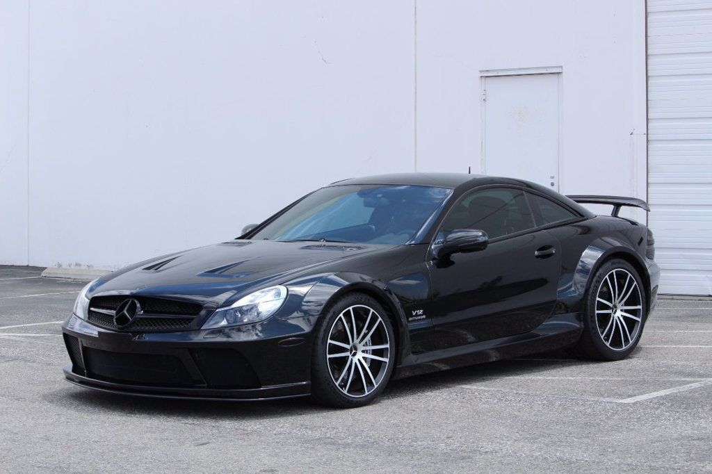 Cool MercedesBenz MercedesBenz SLClass Black Series - Cool mercedes cars