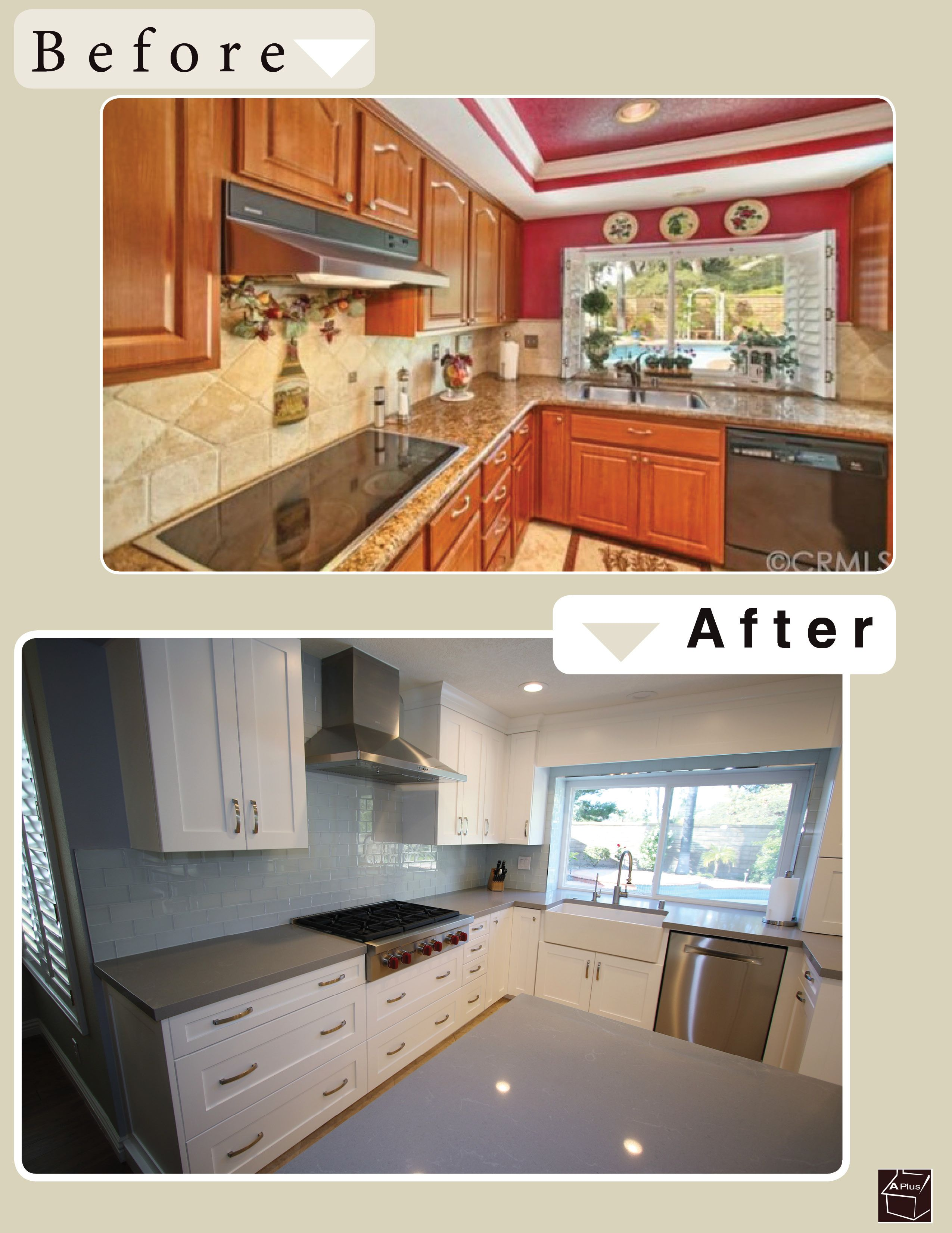 Design Build Transitional White Cabinets Kitchen Remodel In Lake Forest Orange  County