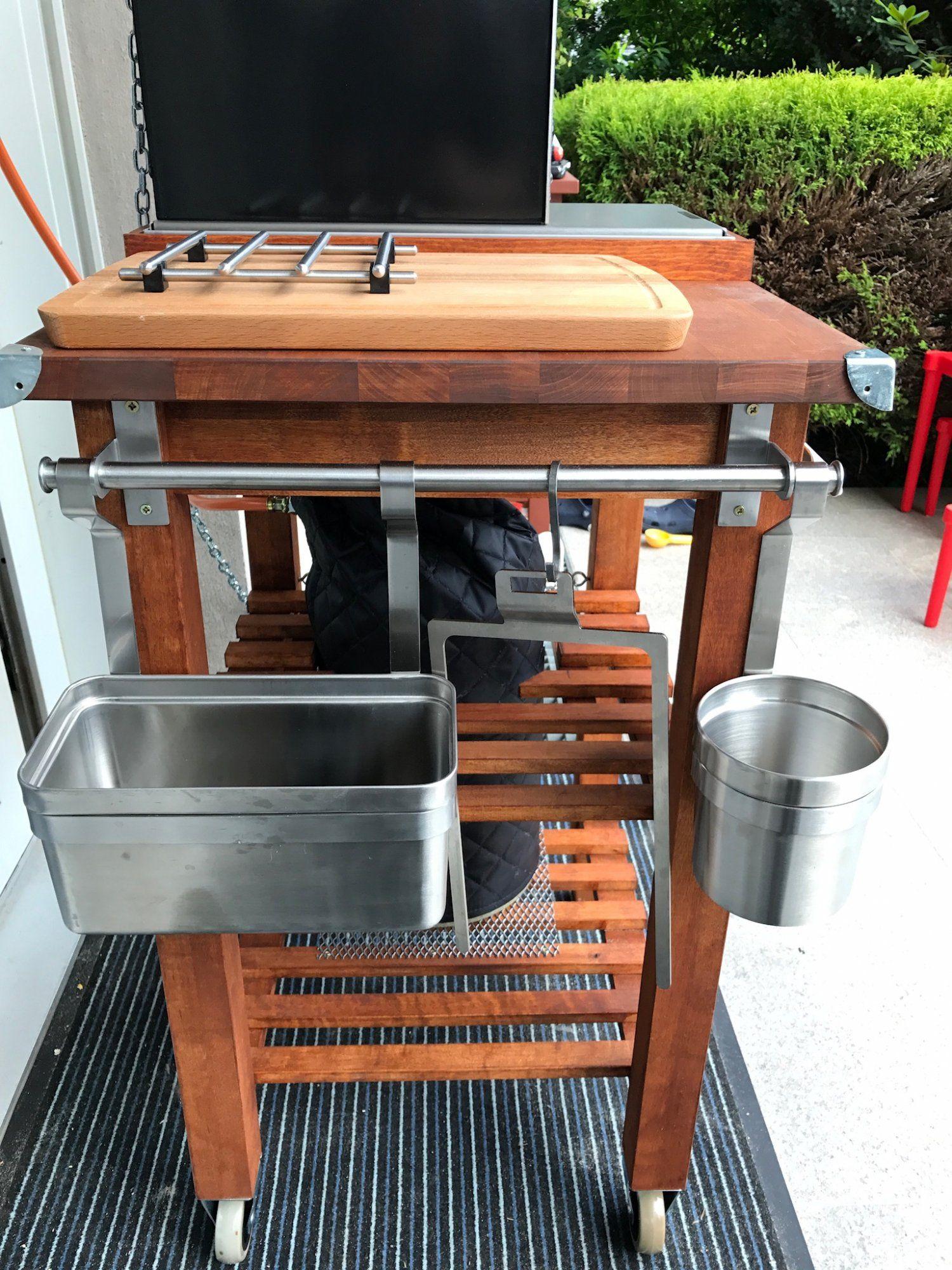 Der Ikea Bekvam Umbau Modding Threadseite 26 Grillforum Und Bbq Www Grillsportverein De Ikea Outdoor Grilltisch Kochen Im Freien