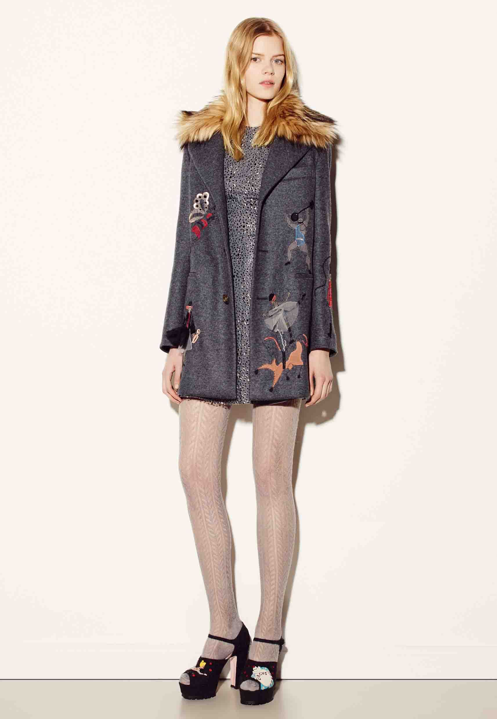 Circus embroidery! On http://www.redvalentino.com/it/e-store