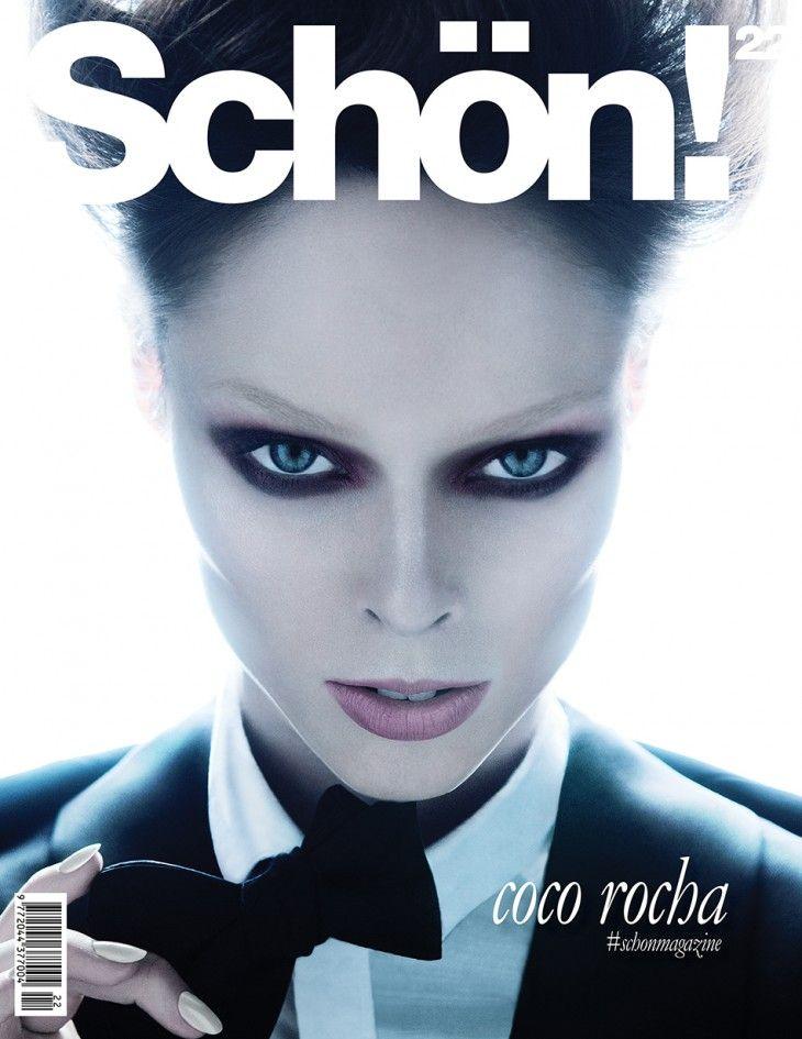 Coco Rocha ¦ Schon Magazine Cover