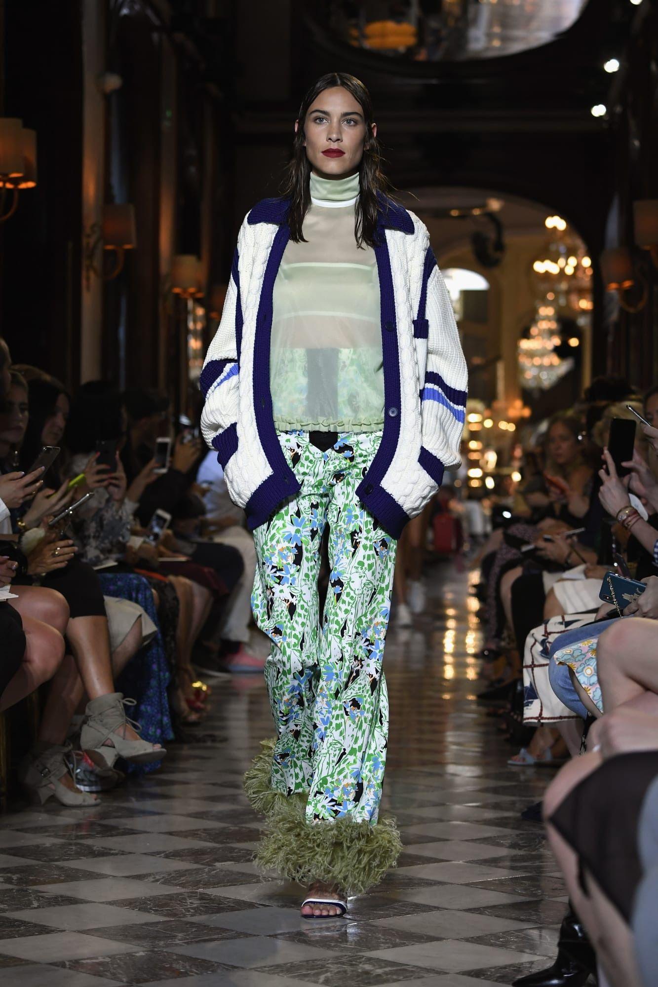 1a0343b52e1 Miuccia Prada Tapped Her Famous Friends to Model for Miu Miu Cruise ...
