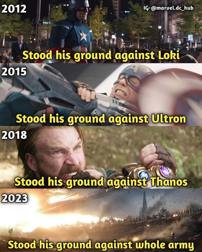 Captain America is strongest avenger *mentally.