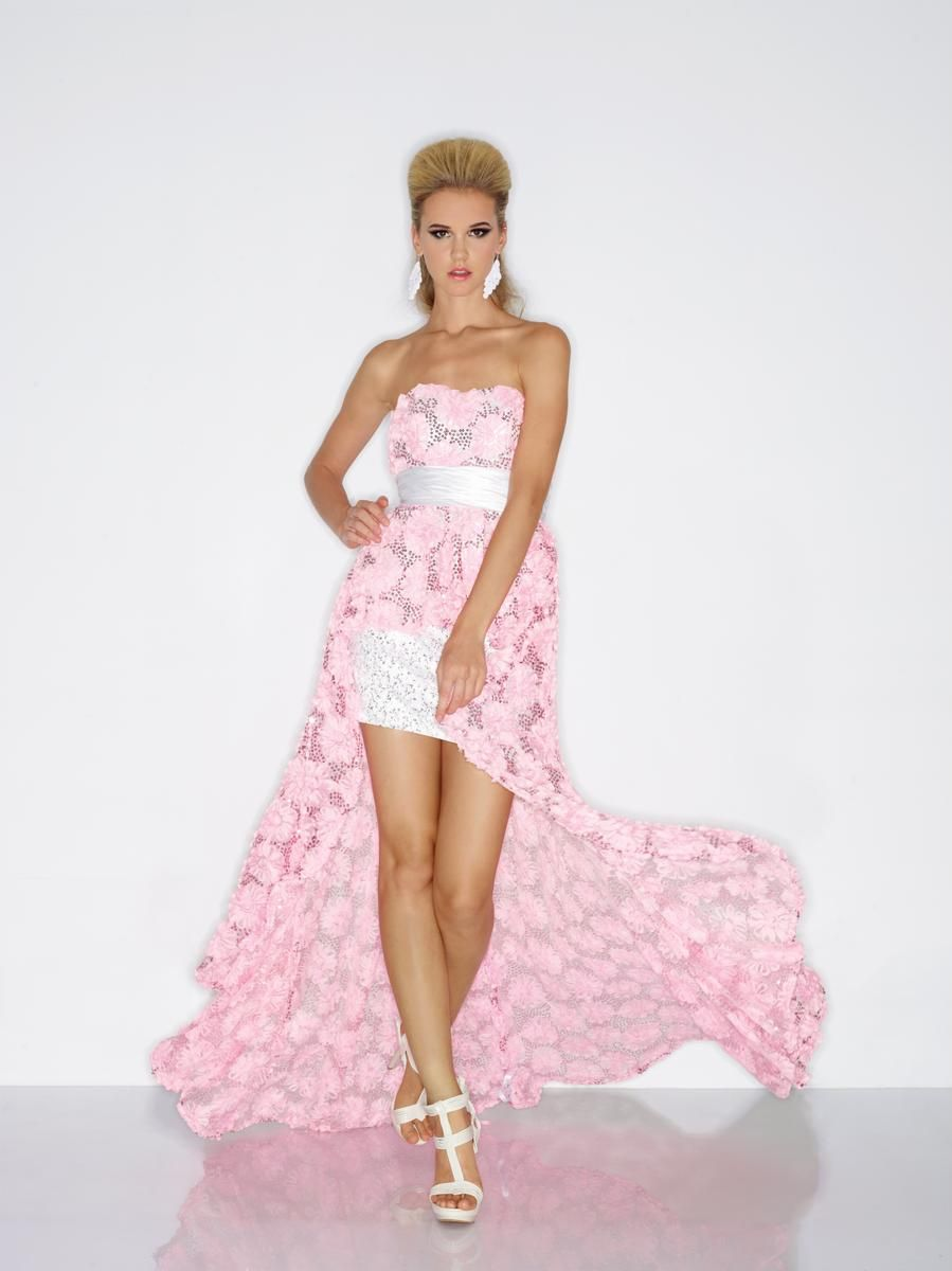 Riva Designs R9490 Sequin High Low | Prom! | Pinterest | High low ...