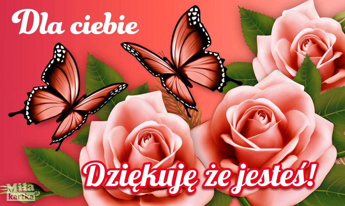 Dziekuje Ze Jestes Milosc Kochanie Kartki Walentynki Serce Okolicznosciowe Polska Poland Butterfly Wallpaper Pink Butterfly Blue Butterfly Wallpaper