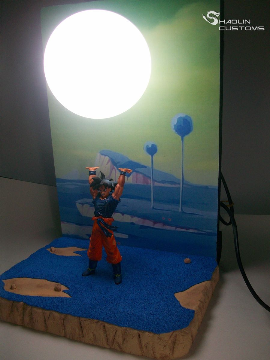 Goku lamp buscar con google geek stuff pinterest for Anime zimmer deko