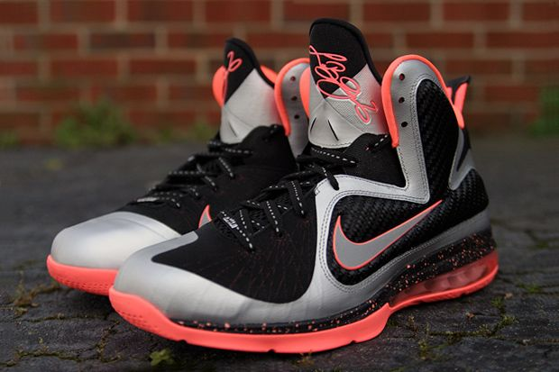 "save off 3eaec 2e804 Nike LeBron 9 ""Bright Mango"""