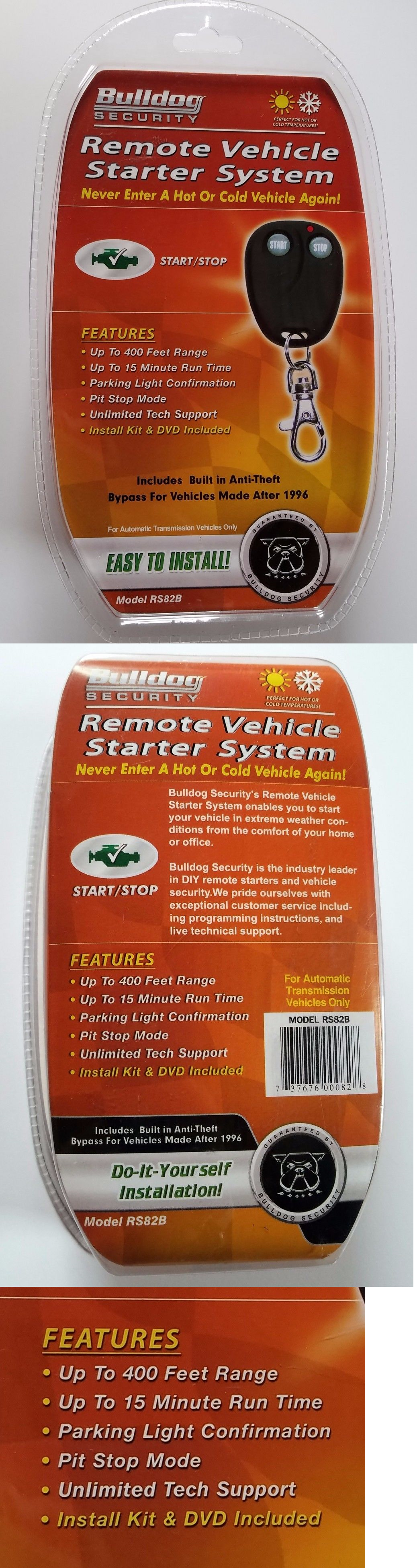 Great Bulldog Security Remote Starter With Keyless Entry Tall Super Switch Wiring Clean Security Bulldog Ibanez Dimarzio Youthful Bulldog Alarms Wiring ColouredOff Grid Solar Wiring Diagram Security Remote Vehicle Starter System Model RS82 New In Box 400ft Rng