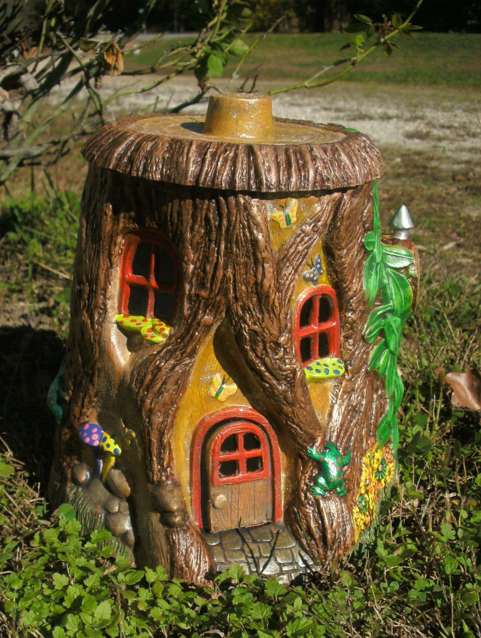 Outdoor fairy house fairy door gifts for her garden fairy for Fairy house doors