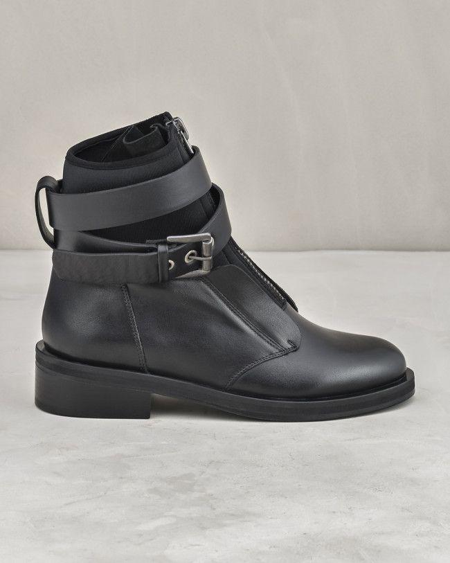 Aurore Bayan Bot Siyah Elle Shoes Siyah Bot Ayakkabilar