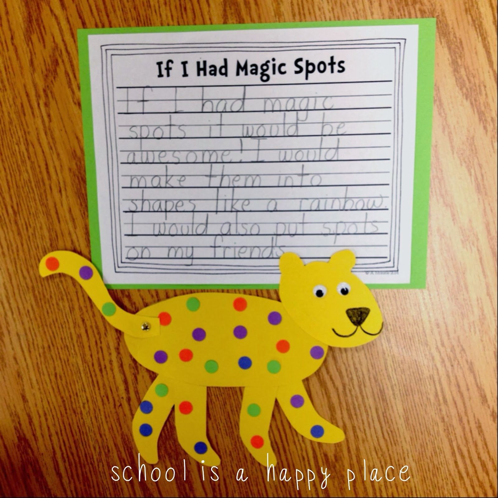 Free Writing Craftivity To Go With Put Me In The Zoo Dr Seuss
