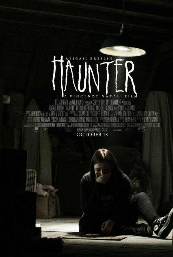 Haunter Is Listed Or Ranked 2 On The List 15 Pretty Good Movies