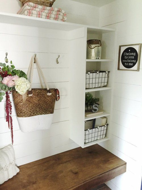 Mudroom Makeover at The Schmidt Home   Haus
