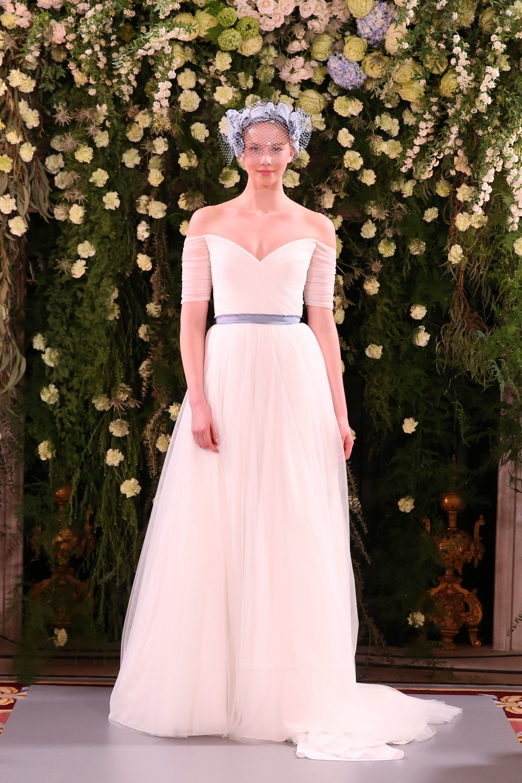 64ff68d73025 Jenny Packham Bridal Spring 2019 Fashion Show | Little Black (and ...