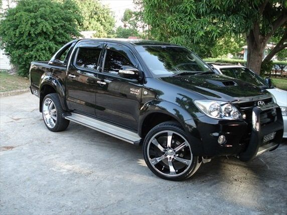 toyota hilux tuning ute pinterest toyota hilux y toyota. Black Bedroom Furniture Sets. Home Design Ideas