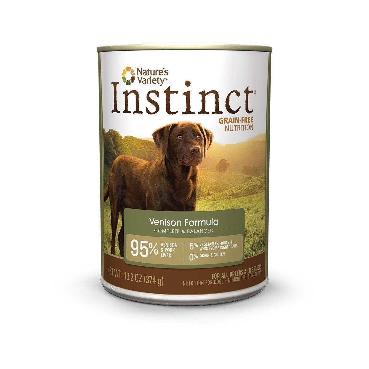 Instinct original grain free real beef and venison recipe