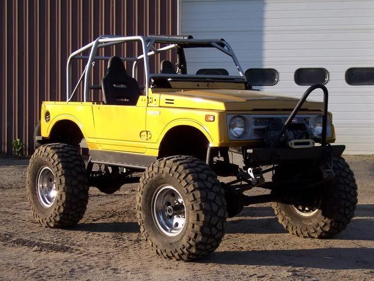Yellow Samurai Suzuki Samurai Suzuki Jimny Suzuki