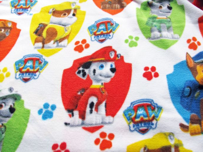 Cutest Paw Patrol No Sew Blanket or Throw Will make a great Christmas or Birthday Gift for anyone - No sew blankets, Crafts sewing projects, Easy sewing projects, Sewing projects, Weighted blanket, Sewing - Cutest Paw Patrol No Sew Blanket or Throw Will make a great Christmas or Birthday Gift for anyone !!! This listing is for a double sided, reversible knotted throw   The one side has The Paw Patrol Puppies The other side is a choice of aqua, blue or yellow This blanket is made to order Both sides are a fleece fabric The throw measures approximately 55 inches by 43 inches   Machine washcold, Drylow heat Throws made with all new materials All items come from a smoke free home Please contact me with any questions Looking for a different size please contact me PLEASE READ BEFORE PURCHASING This listing is for my time to create your item  I do not claim to own the copyright to any characters being used  All copyrights and trademarks of the images being used belong to their respective owners