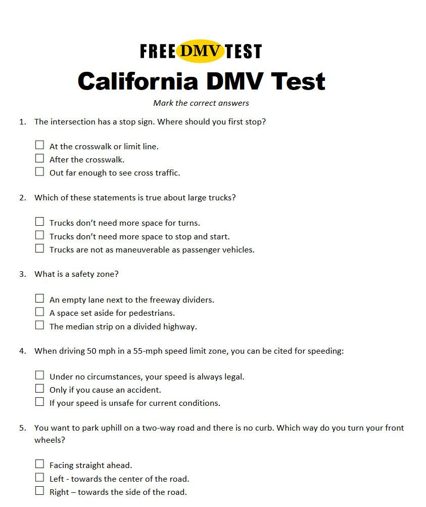 Pin On Dmv Questions Answers