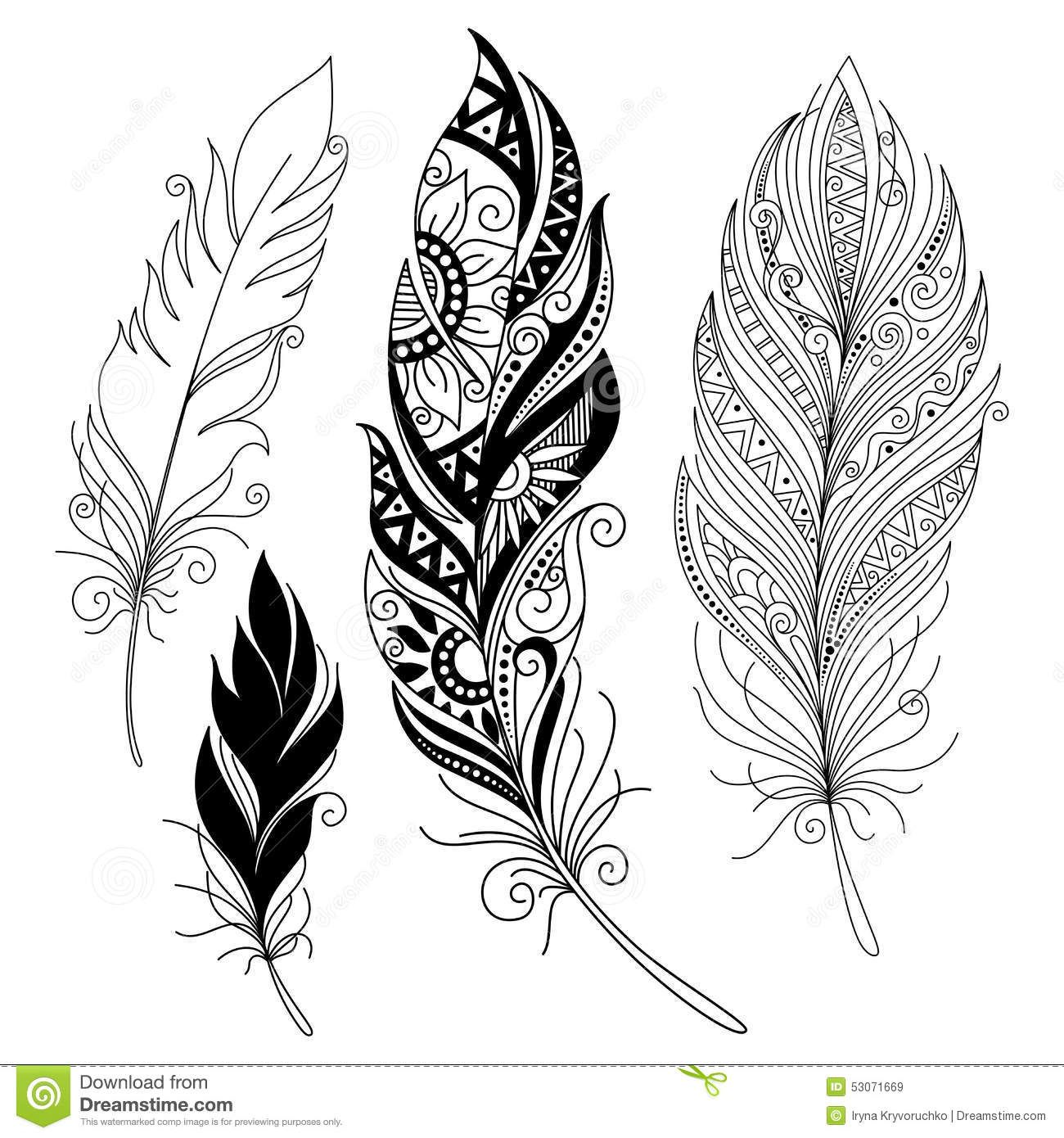 Disegno Piuma Pin Di Ismini Papas Su Disegni Tattoos Feather Tattoos