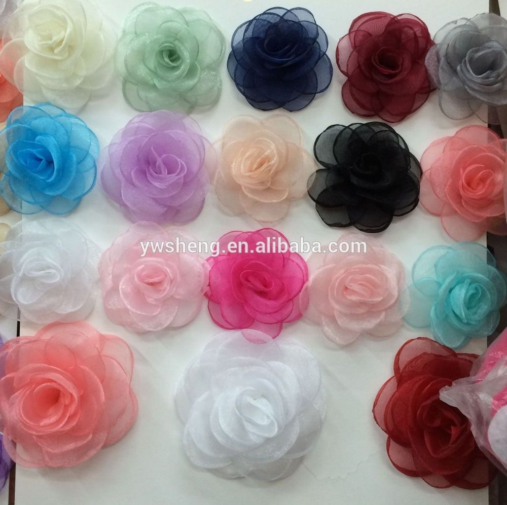 Fashion Cheap Artificial Rose Flower Ornamennt Heads Wholesale