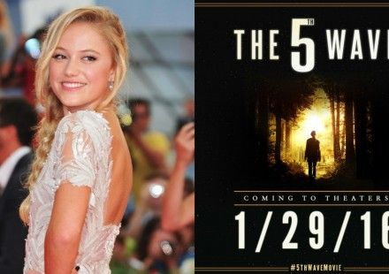 CASTING NEWS: Actress Maika Monroe joins the cast of 'The 5th Wave' movie adaptation