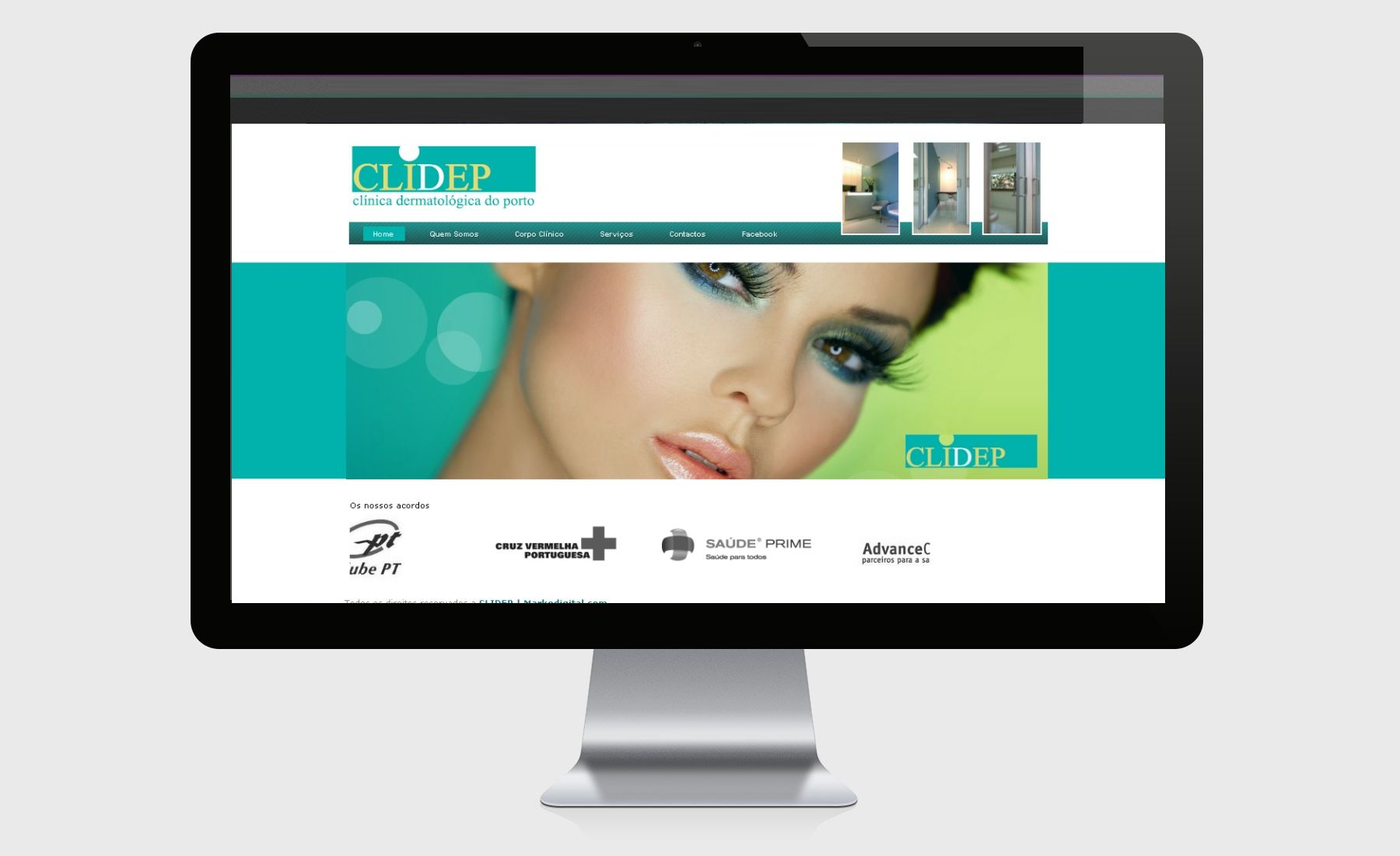 Desenvolvimento do site oficial da CLIDEP com Painel de Administração Online. Gestão de campanhas publicitárias, Gestão de Newsletters e envio massivo, manutenção de conteudos e consultoria de imagem.