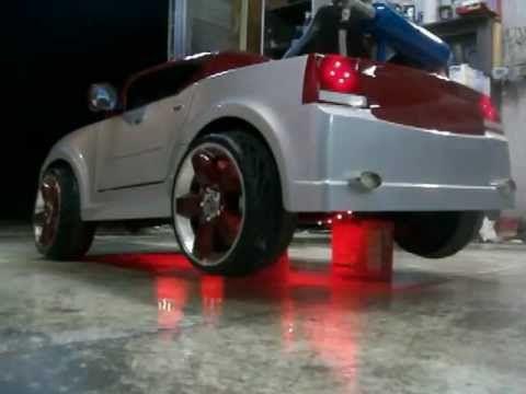 Power Wheels Custom Built Nos Dodge Charger Part 2 Power Wheels Power Wheels Custom Kids Power Wheels