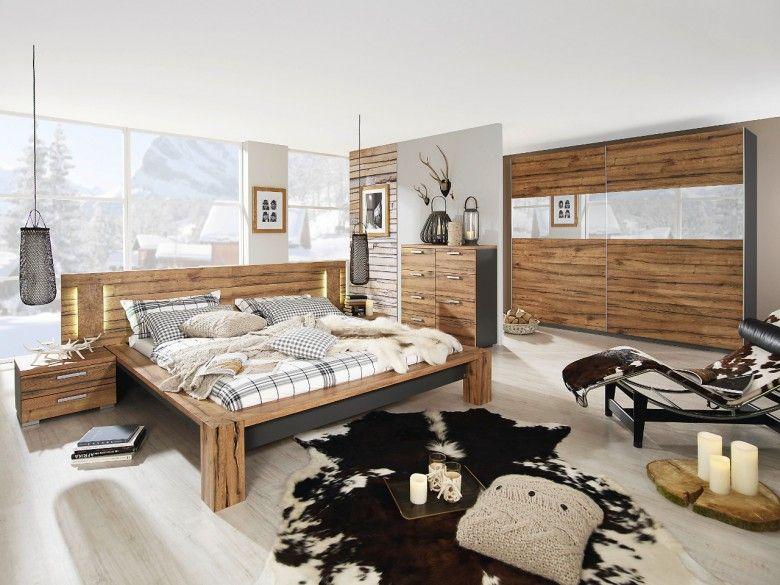 Rauch Schlafzimmermöbel ~ Schlafzimmerset 5 tlg barcelona221 eiche sanremo hell weiß jetzt