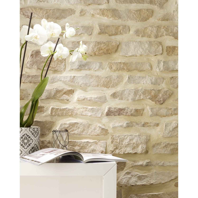 Exceptional Papier Peint Brique Leroy Merlin | Papier peint in