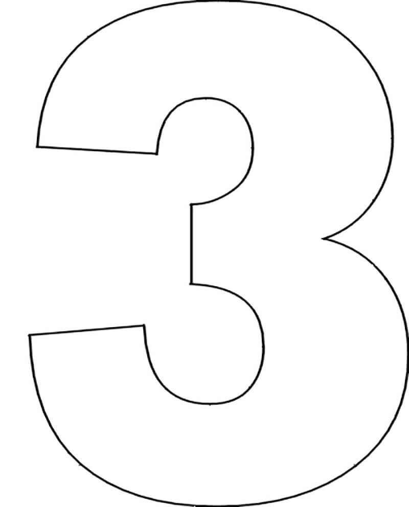 Трафареты цифр для вырезания: шаблоны цифр для декора и ...