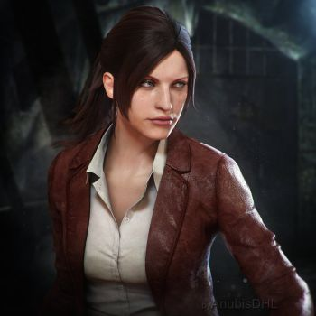 Claire Redfield By Anubisdhl Resident Evil Girl Resident Evil Resident Evil Game