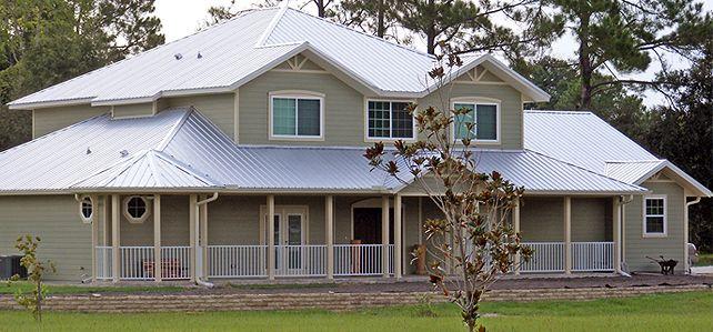 Galvalume Vs Galvanized Roofing Tri County Metals Metal Roof Houses House Roof Galvanized Roofing