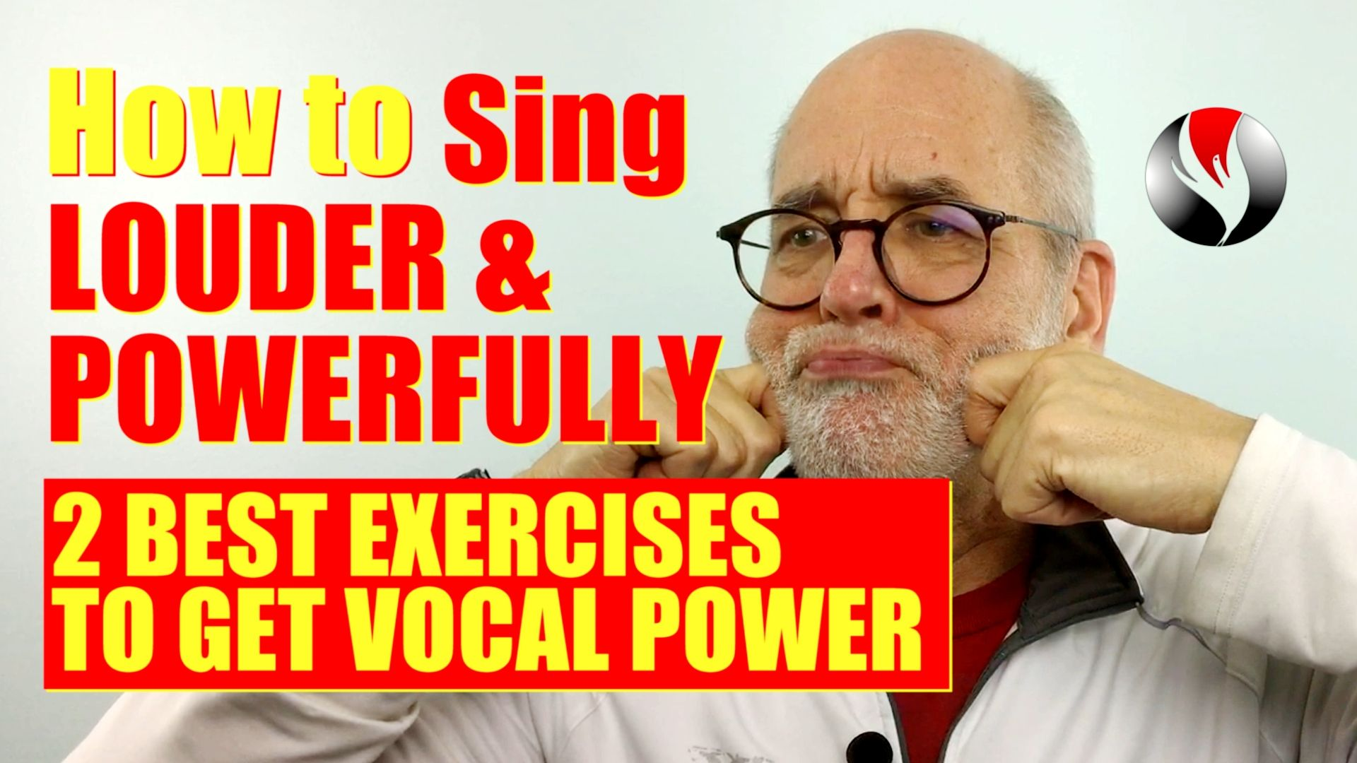 If you want to know how to sing louder and more powerfully