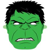 Hulk Mask Template Paper Crafts In 2020 Mask Template Hulk Mask Hulk