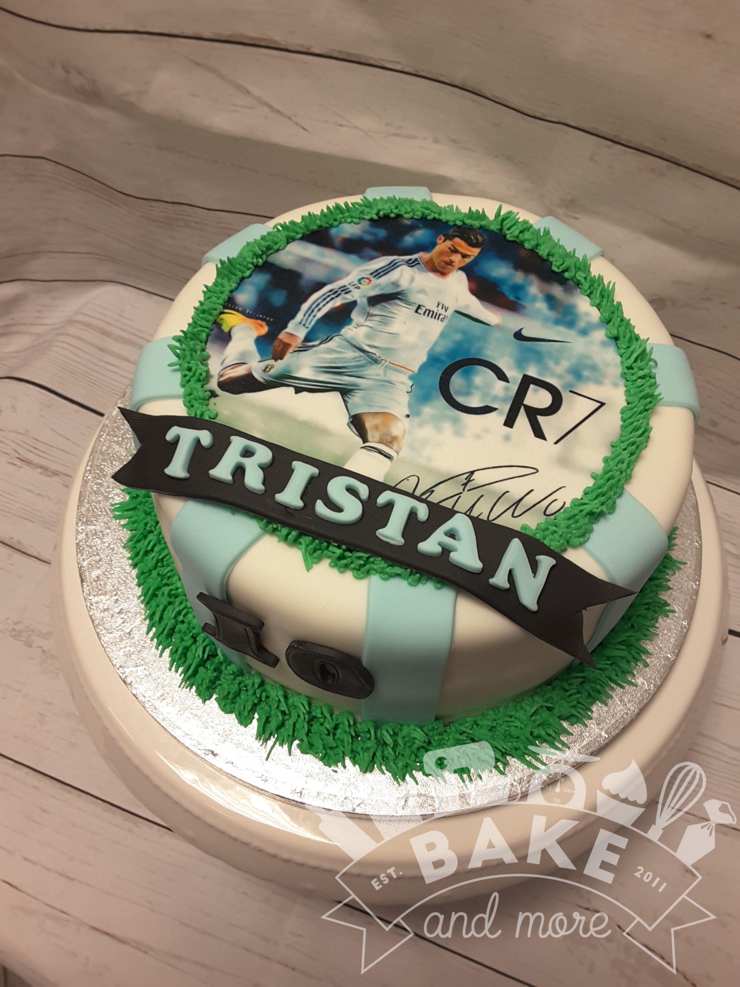juventus cake ronaldo birthday