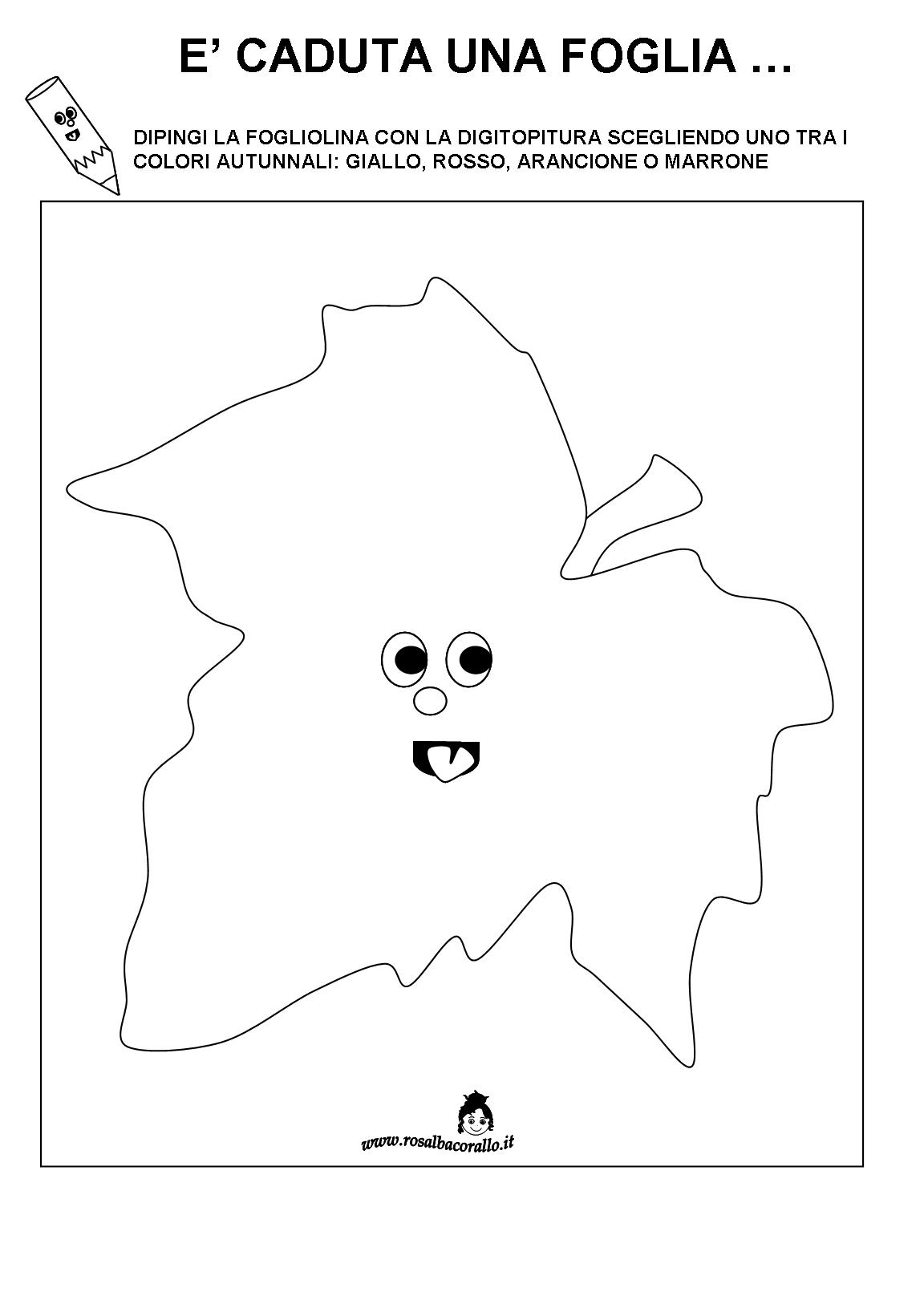 Pregrafismo autunno scuola dell 39 infanzia cerca con - Colore per numeri per i bambini ...