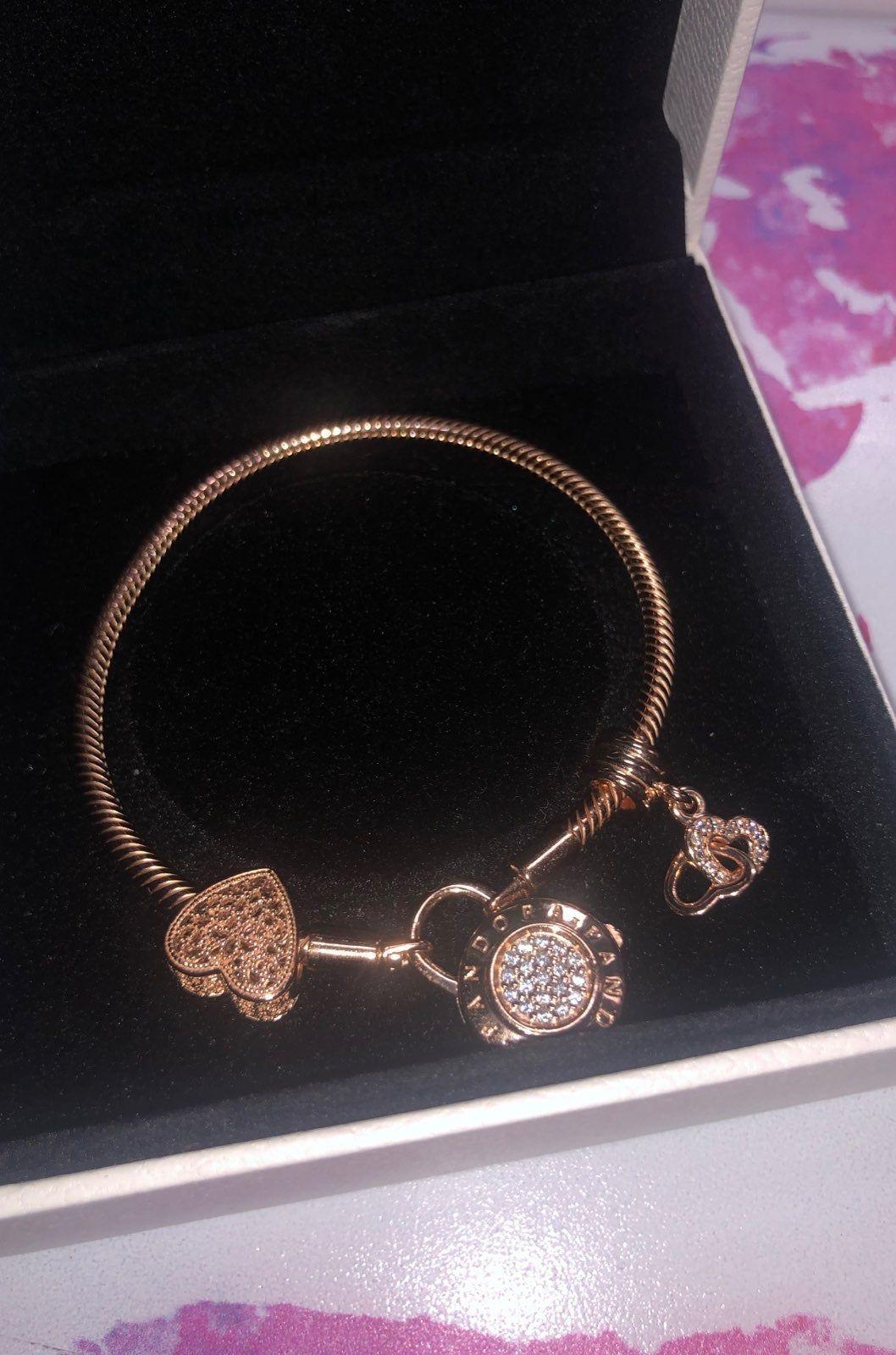 How Much Are Pandora Bracelets Worth : pandora, bracelets, worth, Pandora, Padlock, Bracelet, Charms, Retails, Filigree, Bea…, Jewelry, Charms,, Designs,