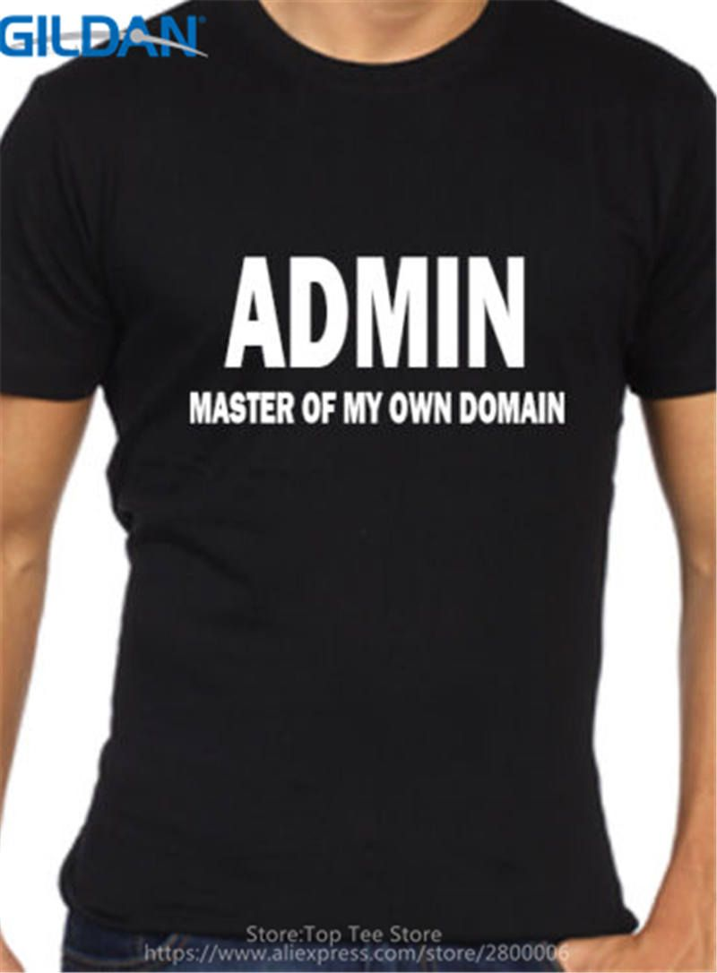Click to Buy << Fashion Cotton T Shirts Gildan Broadcloth Admin Geek  Computer. >>