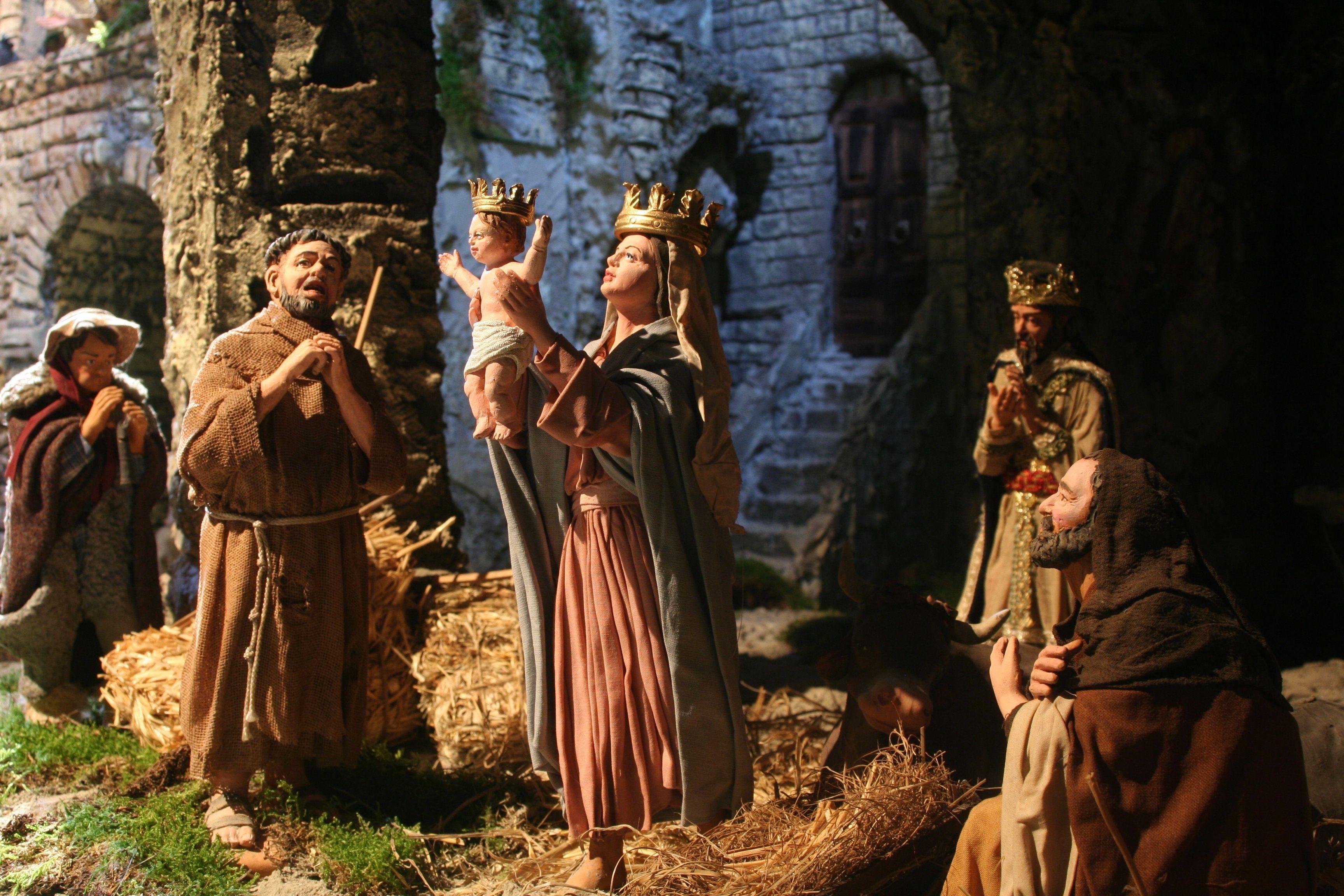 La Natività del Presepe di Loreto del 2011 oggi visitabile