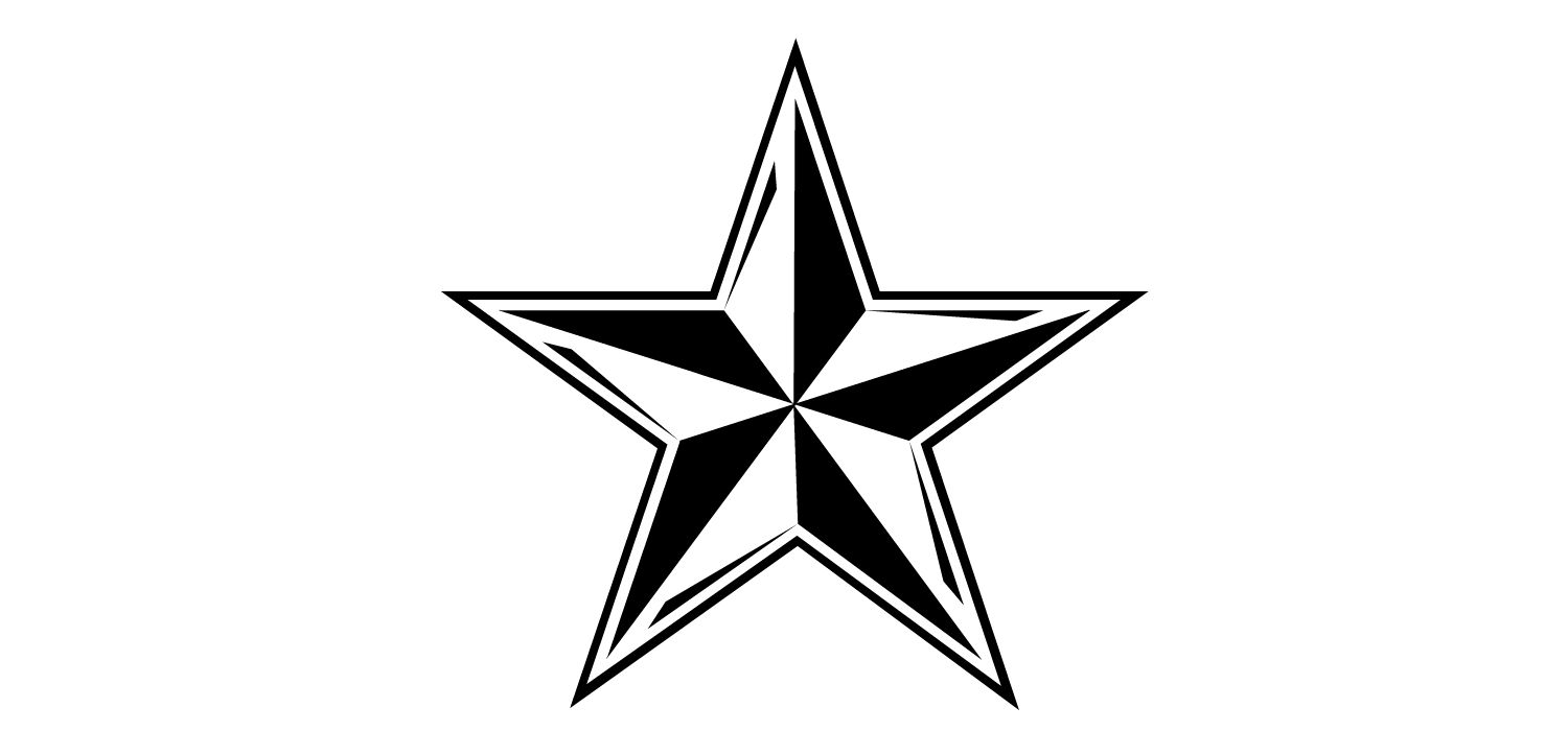 17+ Stars clipart black and white free ideas