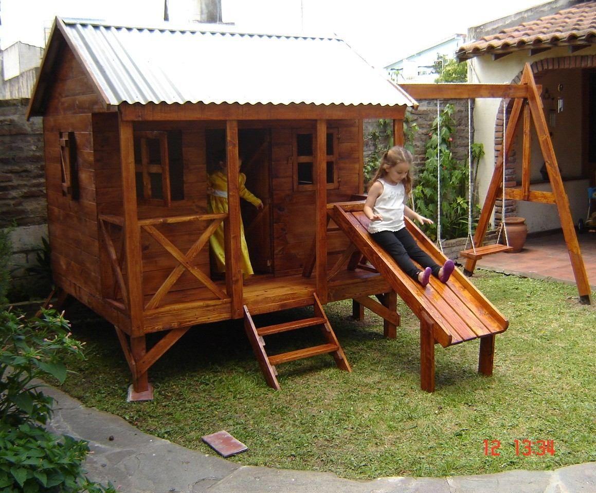 Resultado de imagen para casitas de madera para ninos for Casitas de madera para jardin para ninos