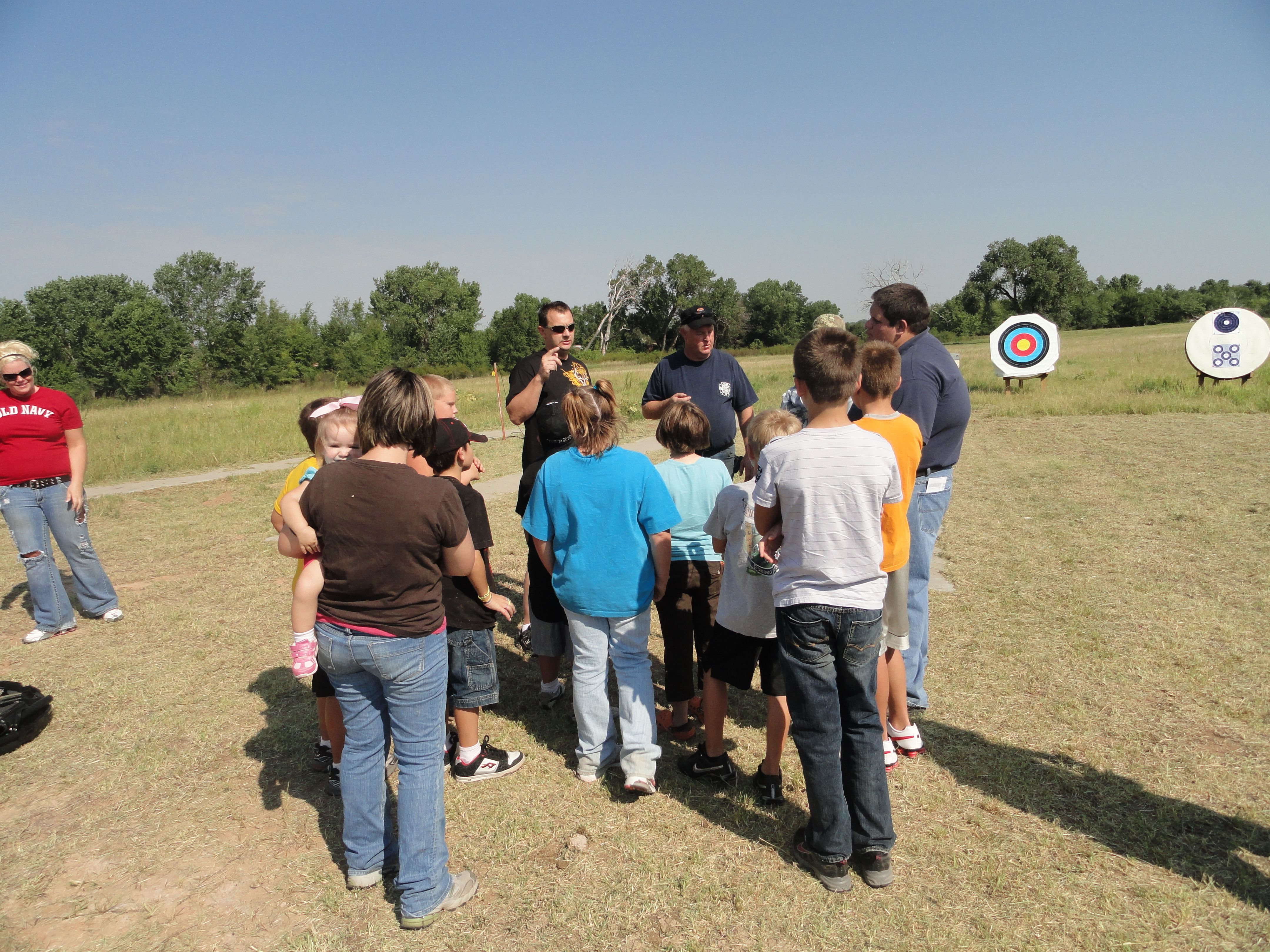 Shooting Sports Sampler - Have a demonstration of each discipline to recruit new members and answer questions.