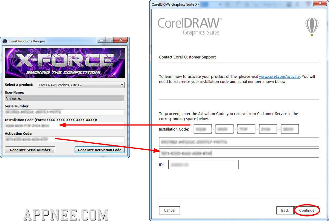 corel all products universal keygens by core appnee