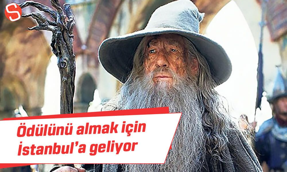 Ian Mckellen Odulunu Almak Icin Istanbul A Geliyor Ianmckellen Istanbulfilmfestivali Odul Gandalf Ian Mckellen Istanbul Gandalf
