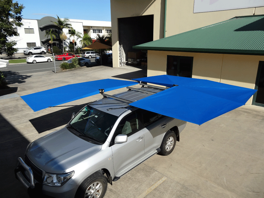 Clevershade 270 4wd Vehicle Shade Australian Made Car Awnings Vehicles Truck Tent